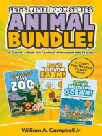 Let's Visit Book Series Animal Bundle (Let's Visit Series, #4)