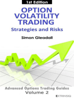 Option Volatility Trading : Strategies and Risk (Volcube Advanced Options Trading Guides, #2)
