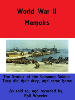 World War II memoirs