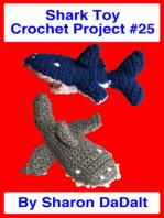 Shark Toy Crochet Project #25