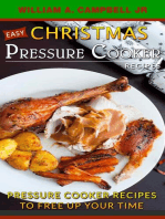 Easy Christmas Pressure Cooker Recipes
