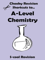 A-Level Chemistry Revision (Cheeky Revision Shortcuts)