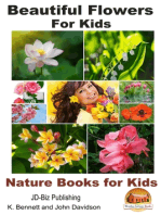 Beautiful Flowers for Kids