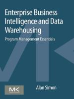 Enterprise Business Intelligence and Data Warehousing: Program Management Essentials
