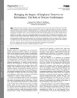 Impact of Employee Turnover on Performance