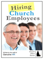 Hiring Church Employees (Church Office Series, #1)