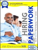 Hiring Paperwork (Be a Better Boss, #1)