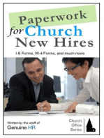 Paperwork for Church New Hires (Church Office Series, #2)