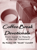 Coffee Break Devotionals