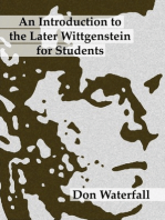 An Introduction to the Later Wittgenstein for Students
