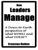 How Leaders Manage