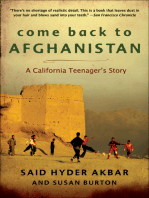 Come Back to Afghanistan