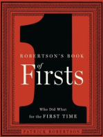 Robertson's Book of Firsts