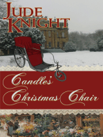 Candle's Christmas Chair