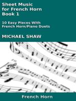 Sheet Music for French Horn