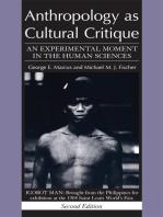 Anthropology as Cultural Critique