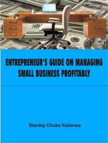 Entrepreneur's Guide on Managing Small Business Profitably