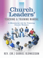 Church Leaders' Teaching & Training Manual