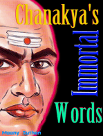 Chanakya's Immortal Words