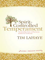 Spirit-Controlled Temperament