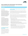 Study on Distribution Management for Insurance