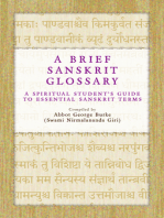 A Brief Sanskrit Glossary