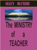 The Ministry of a Teacher (Ministry Gifts, #6)