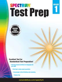 Spectrum Test Prep, Grade 1