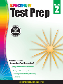 Spectrum Test Prep, Grade 2