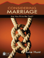 Considering Marriage