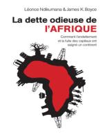 La dette odieuse de l'Afrique