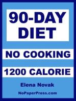90-Day No Cook - 1200 Calorie