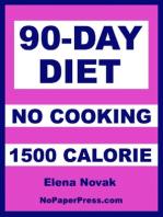 90-Day No Cook - 1500 Calorie