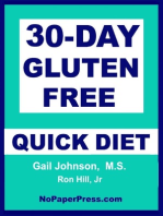 30-Day Gluten Free Quick Diet