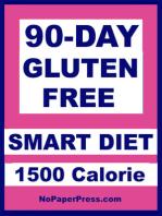 90-Day Gluten Free Smart Diet - 1500 Calorie