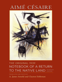 The Original 1939 Notebook of a Return to the Native Land: Bilingual Edition