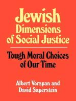 Jewish Dimensions of Social Justice