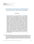 Financial Study on Financial Industry and Challenges Related to Post-Crisis