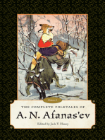 The Complete Folktales of A. N. Afanas'ev