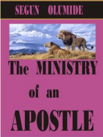 The Ministry of an Apostle (Ministry Gifts, #2)