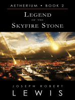 Legend of the Skyfire Stone (Aetherium, Book 2 of 7)