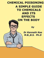 Chemical Poisoning, A Simple Guide To Chemicals And Its Effects On The Body