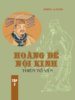 Hoàng Đế nội kinh -Thiên Tố vấn (tập 2)