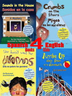 4 Spanish-English Books for Kids: 4 libros bilingües para niños: With English-Spanish Pronunciation Guide