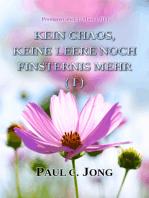 Predigten über 1. Mose ( III ) - Jetzt Gibt Es Kein Chaos, Keine Leere Noch Finsternis Mehr ( I )