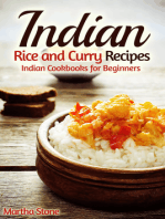 Indian Rice and Curry Recipes: Indian Cookbooks for Beginners