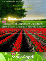 Answers of Important Questions that Every Christian Should Know