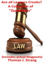Are all Lawyers Crooks? A Collection of Quotations