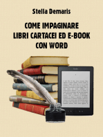 Come impaginare libri cartacei ed e-book con Word