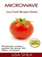 Microwave Low Carb Recipes (Low Carb Reference, #2)